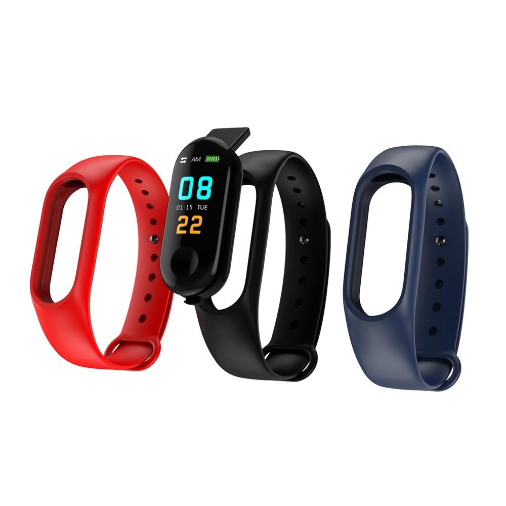 Tangocross Silicone-Strap Fitness-Tracker Smart Bracelet M3 for