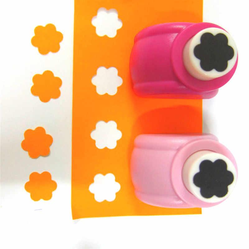 18mm punzones florales 1 Agujero perforador cortador de papel máquina para álbumes de recortes DIY herramientas repujado para álbum de recortes Furador Eva