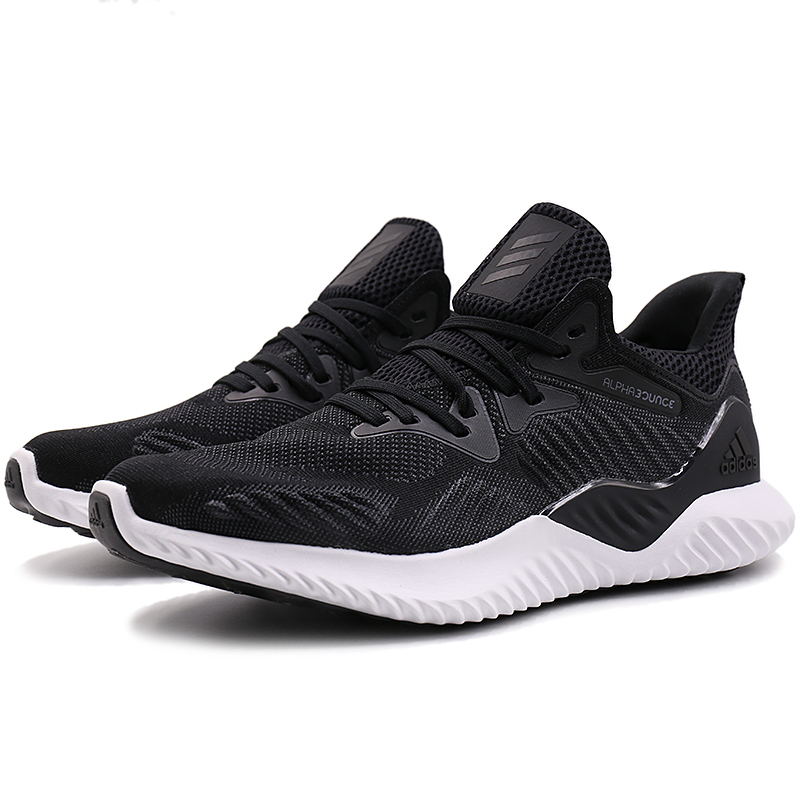 Adidas New Arrival Men 39 s Lace up Breathable Lightweight Men Running Shoes Comfortable Sneakers AC82 73 74 BY87 96 93 91 in Running Shoes from Sports amp Entertainment