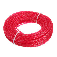 15m X 3mm Strimmer Line Brushcutter Parts Grass Trimmer Nylon Garden Cord Wire Round String Home Tool Supplies