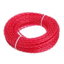 15m X 3mm Strimmer Line Brushcutter Parts Grass Trimmer Nylon Garden Cord Wire Round String Home Garden Tool Supplies