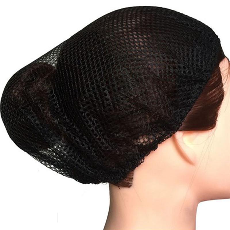 white restaurant cooking snoods  Nylon Hair Net Bouffant  Cap 8 pcs