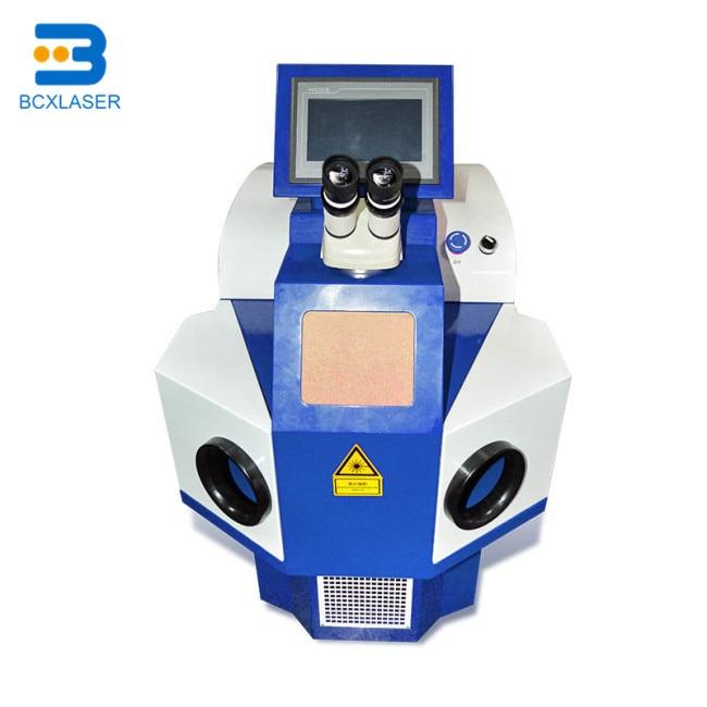 Купить с кэшбэком high  precision 100W 200W Spot Jewelry Laser Welding Machine for Jewelry, electronics, watches, military