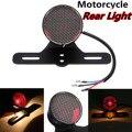 Универсальный мотоциклетный светодиодный задний стоп-сигнал  стоп-сигнал  номерной знак  лампы для Кафе Racer Bobber