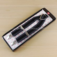 Hot Selling Men Suspenders, Mens Suit Braces, Gallus With Four Clips, Wholesale/Retail