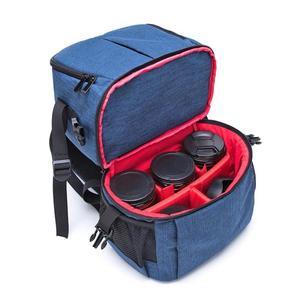 Image 5 - Sac à dos étanche pour appareil Photo Portable Oxford tissu souple sac Photo appareil Photo numérique DSLR épaules vidéo sac à dos rembourré étui pour reflex sac a dos photographe sac à dos appareil photo reflex
