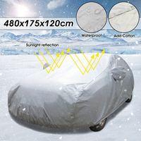 Universal Winter Outdoor Car Auto Full Cover Snow Ice Rain Dust Sun Waterproof UV Anti scratch Protector Double Layer Rain Shade