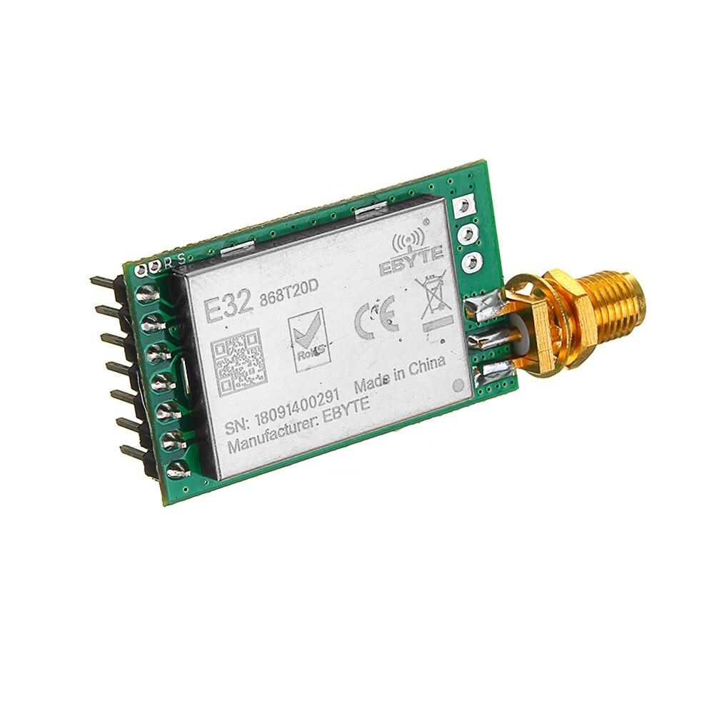 LEORY RF Transmitter Receiver Module LoRa SX1278/SX1276 433MHz 8000M UART  Long Range 433 MHz 1W Wireless rf Transceiver