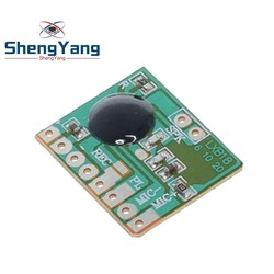 ISD1806 6S Sound Recordable Chip IC Voice Music Talking Recorder Module 8ohm Speaker Electronic Gift Greeting Card 3-4.5V