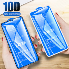 10D Full Curved Tempered Glass For iPhone 11 Pro Max 2019 X 7 8 6 6S Plus XR XS MAX Screen Protector protective Film Case Cover(China)