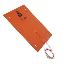 Dovewill 750 Вт 220 В 310*310 мм силиконовый нагревательный коврик Горячая кровать для 3d принтера