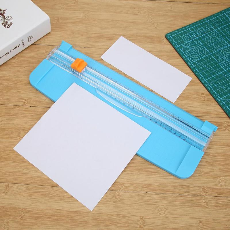 2.5 * 1.8cm Portable Paper Cutter With Rug Handy Cutting Mat Paper Card Cutting Blade For A5 Precision Paper Or Phote Cutting