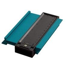 5 дюймов пластиковый профиль копировальный манометр Дубликатор стандартный деревянный маркировочный инструмент профессиональный деревообрабатывающий измерительный инструмент