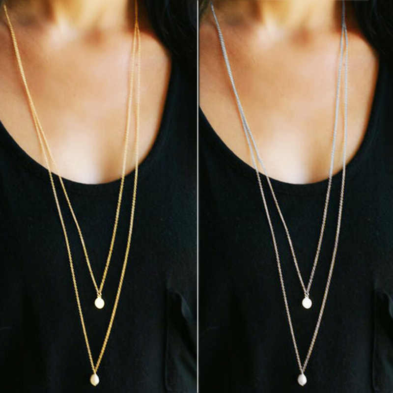 Fashion necklaces for women 2019 statement long chokers necklaces for women necklaces pendants gold sliver women accessories
