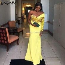 Женское кружевное платье Русалка ynqnfs e51 желтое элегантное
