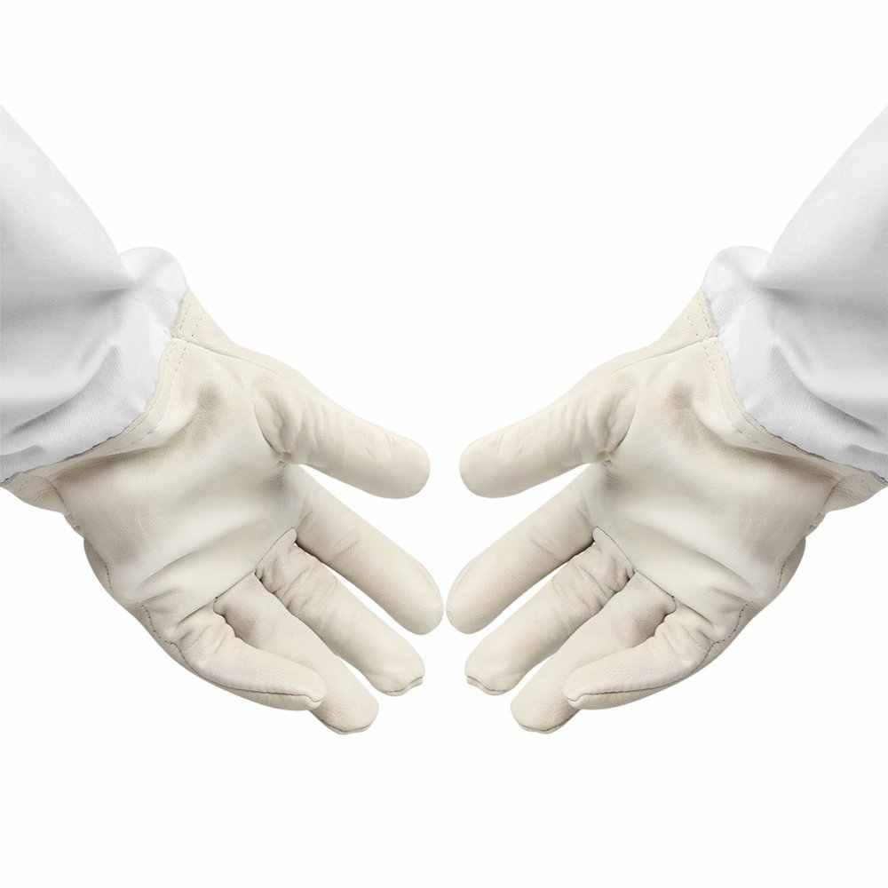 1 ペア養蜂家防止手袋保護スリーブ薄型ソフト Pu 抗蜂養蜂養蜂機器 XL XXL XXXL