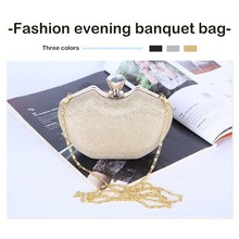Fashion European style evening clutch bags women Hand luxury handbags Classic  Crossbody Bags Evening Banquet Package.