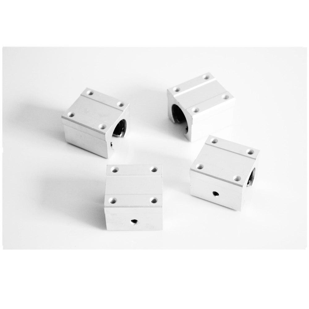 10mm Linéaire Rail SBR10 300/500/600/1000mm Entièrement Pris En Charge Glisser Arbre Tige Guide avec 4 pièces SBR10UU Bloc - 4