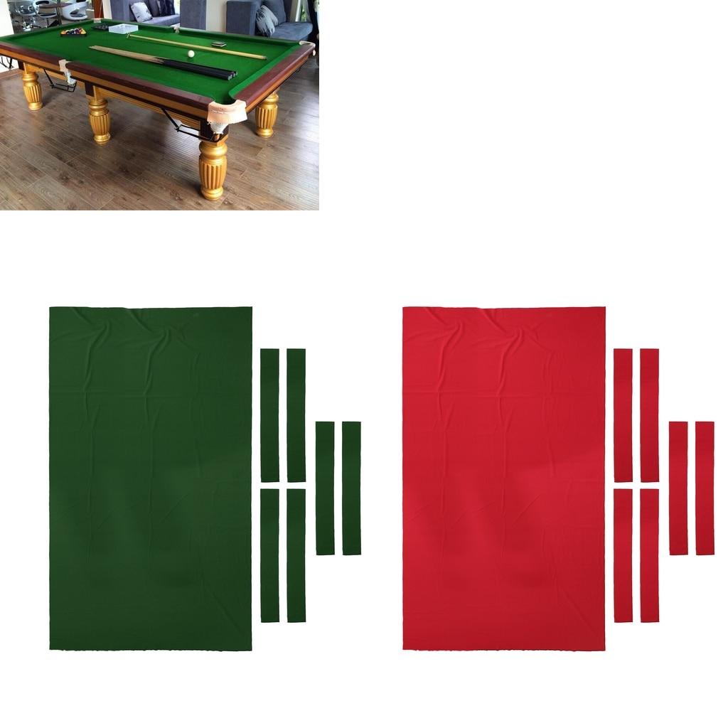 6Pcs//Lot white billiard pool snooker table cotton mesh net bags pockets club-kON