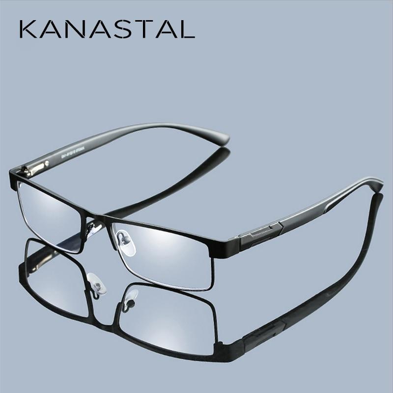 Metal Frame Men Reading Glasses Non Spherical 12 Layer Coated Lenses Vintage Business Hyperopia Prescription Eyewear Free Ship