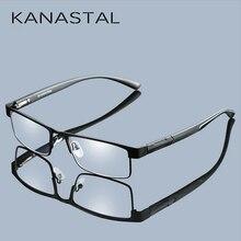 dde39cd24e Montura de Metal para hombre gafas de lectura no esféricas 12 capas  recubiertas lentes Vintage negocios