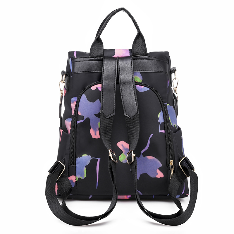 Oxford Women Backpacks Fashion Anti theft Large Capacity Ladies Backpack Famous Brand Multi pocket Women Backpacks in Backpacks from Luggage Bags