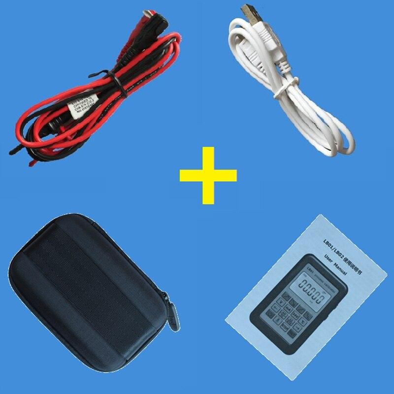 Compteur de tension de résistance USB Lb02 4-20Ma 0-10 V/Mv Source de générateur de Signal Thermocouple Pt100 Test de calibrateur de processus de température - 5