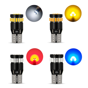 Image 5 - 10x W5W T10 LED Canbus Light Bulbs for BMW Audi Mercedes Car Interior Reading Parking Lights White Blue Red Yellow No Error 12V
