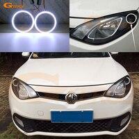 For MG 6 MG6 2010 2011 2012 2013 2014 2015 Excellent angel eyes Ultra bright illumination COB led angel eyes kit