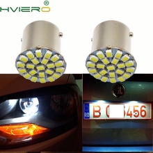 цена на 1Pcs 1157 BAY15D 1206 3020 22SMD White LED Brake Turn Light Auto mobile Wedge Lamp Tail Bulb Super Bright DC 12V Car