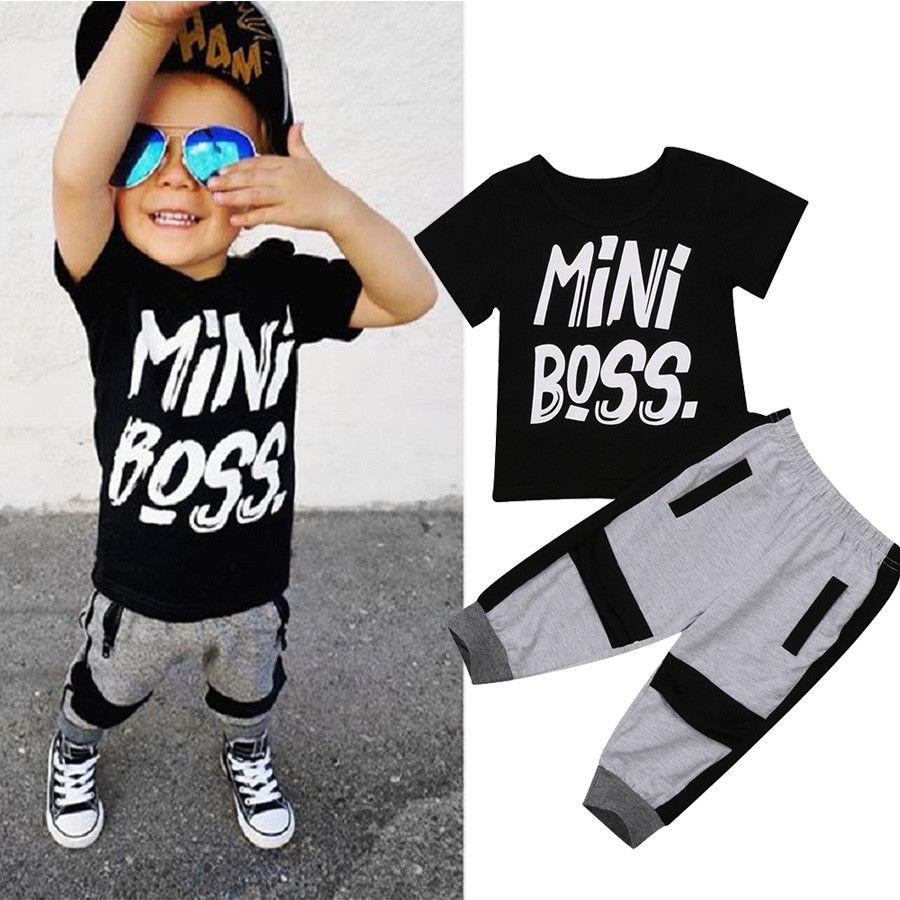 7b939b6a9cb9 Aliexpress.com   Buy Pudcoco Boys Clothes 2Pcs Toddler Kids Baby Boy ...