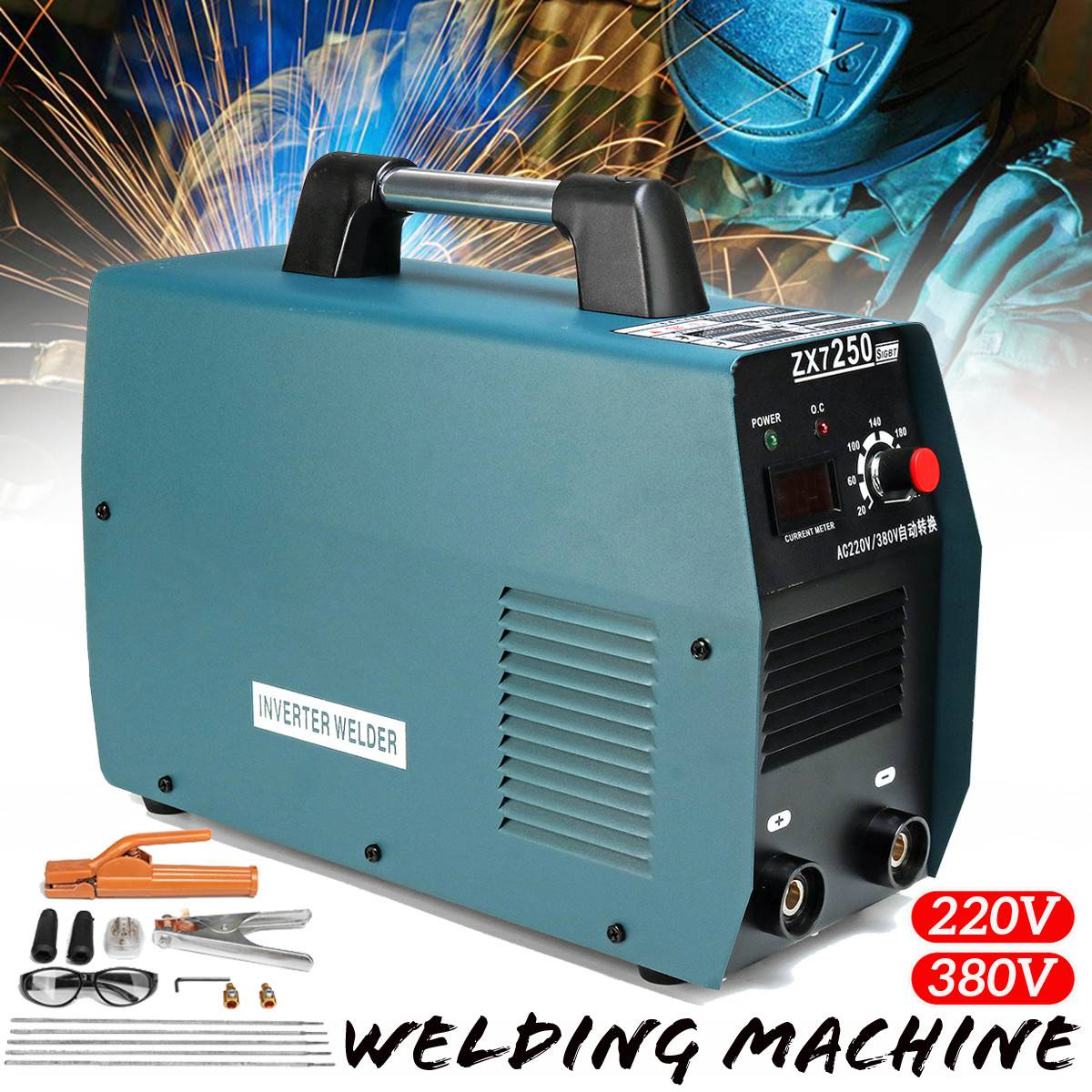 Welders, Cutters & Torches Forceful 1xhandheld Mini Mma Electric Welder 220v Power Inverter Arc Welding Machine Tool
