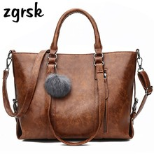 Casual Tote Bags Designer Luxury Womens Large Handbags Women High Quality Shoulder With Hair Ball Big Top-handle