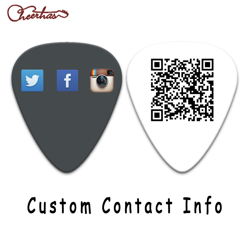 Image 5 - 100pcs 500pcs or 1000pcs personalize custom guitar pick-in Детали и аксессуары для гитар from Спорт и развлечения
