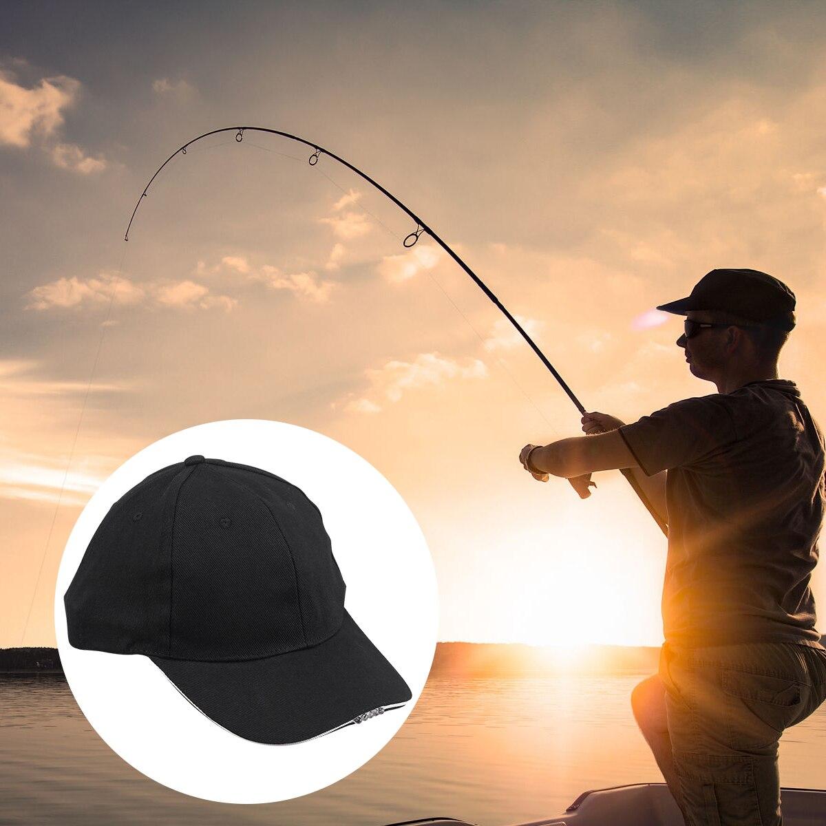 Generous 1pc Baseball Cap Quality Warm Unisex Led Flash Light Led Cap Hat Adjustable Cap Hiking Hunting Camping Fishing Numerous In Variety