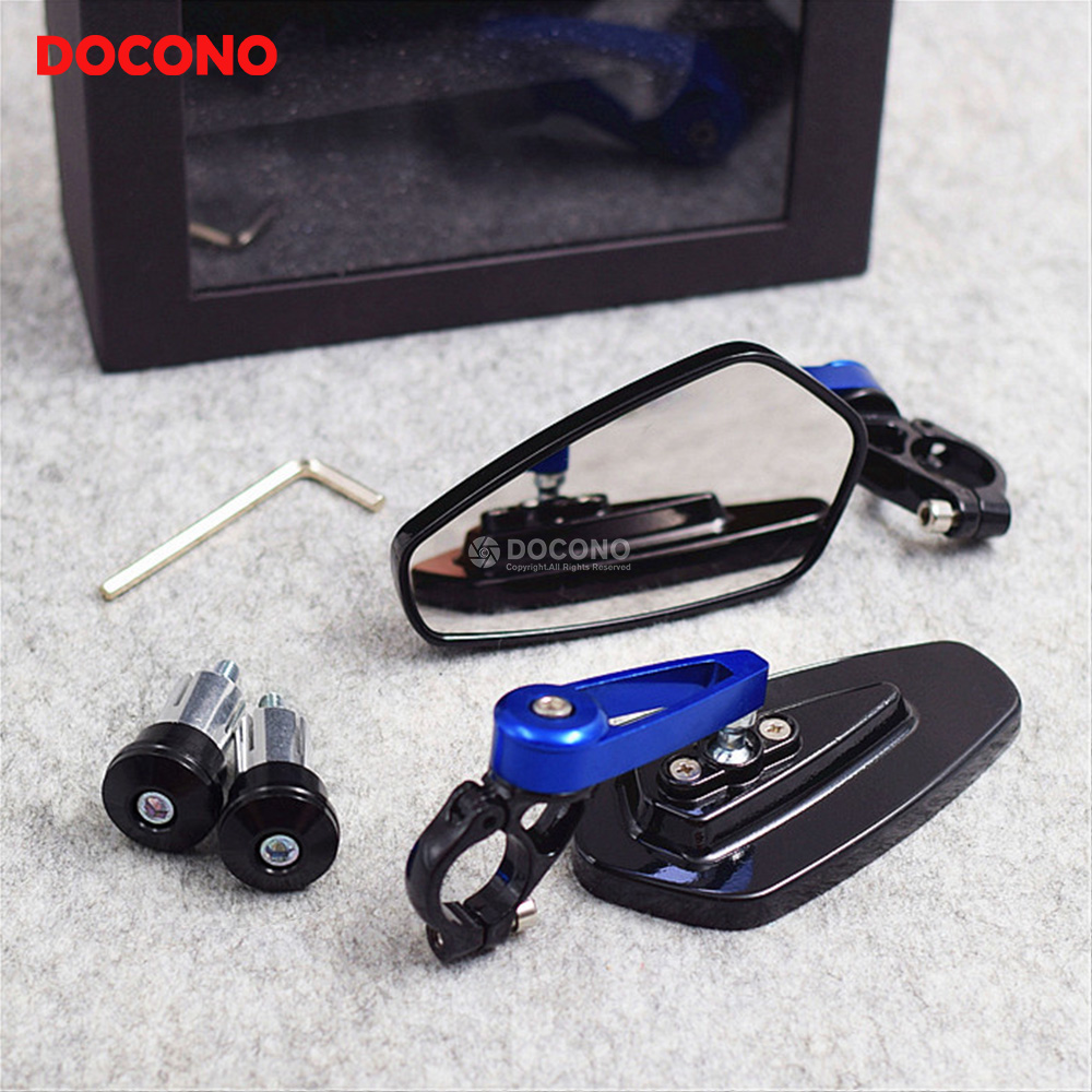 Motorcycle 22mm Handlebar Side Rearview Mirrors Universal For HONDA Cbr 400r Cbr 650f Nc 700s Dct Msx 125 Cb 1000r Cbr 500r Etc.