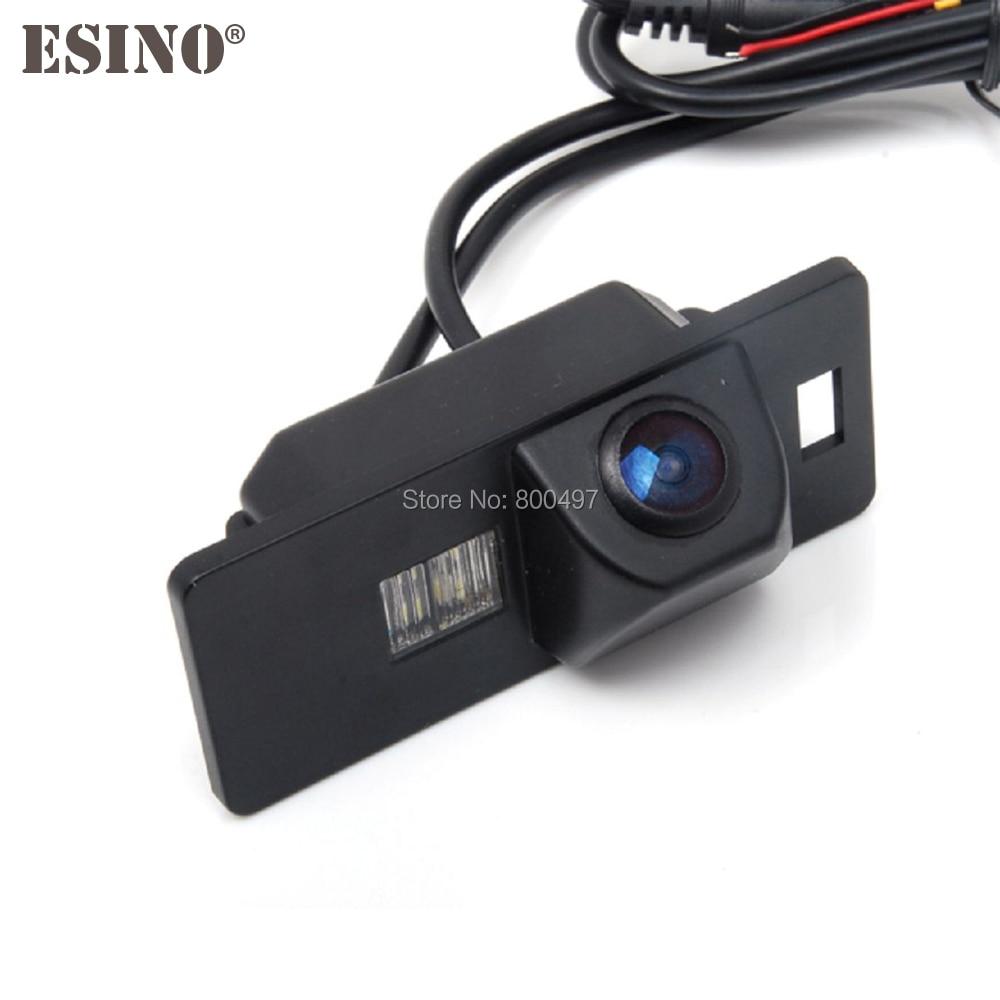 CCD HD Araba Dikiz Ters Park Kamera IP67 Gece Görüş Kamera Audi A1 için A3 A4 A5 A6 RS4 TT Q5 Q7 Volkswagen Passat R36