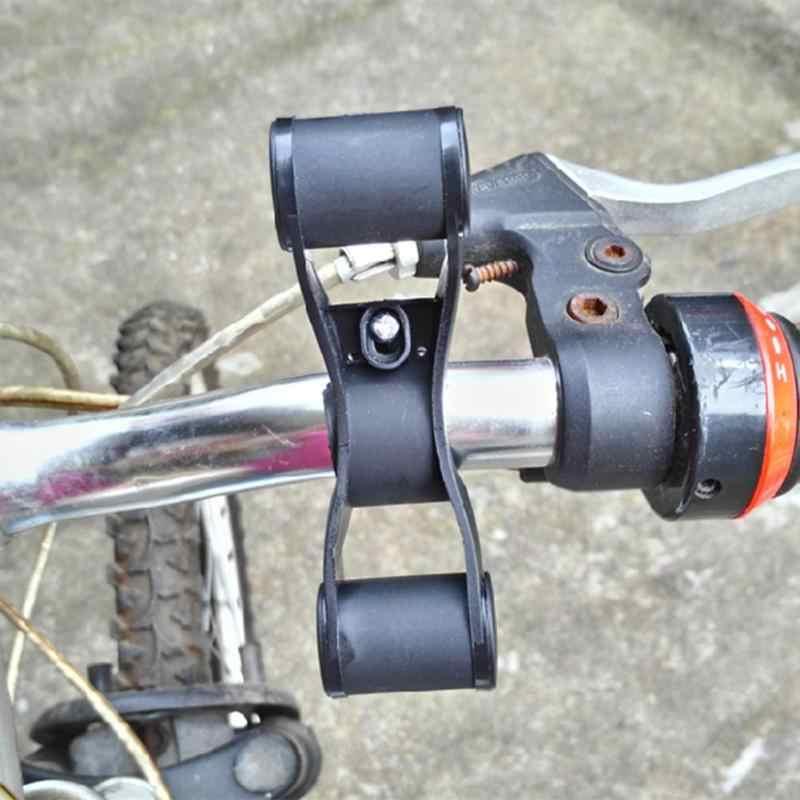 Estrada de montanha da bicicleta guiador extensor montagem quadro suporte da bicicleta guiador haste preto mtb peças ciclismo