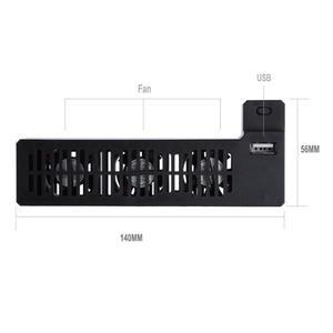 Image 5 - Schwarz 2019 Neueste Kühler Fan 5V 1A USB Port Externe 3 Fan Lüfter Für Xbox One X für Gaming Konsole