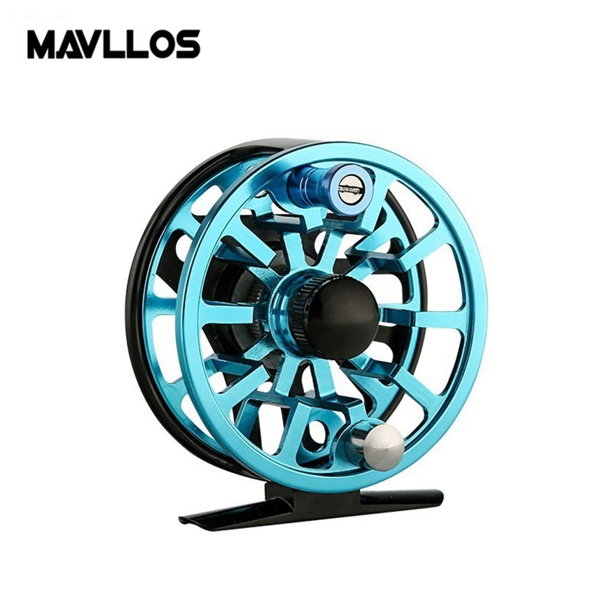Mavllos 3/4 5/6 7/8WT Fly Fishing Reel 3 Stainless Steel Bearings CNC Machine Frame Ultralight Aluminum Ice Fly Reel Mavllos 3/4 5/6 7/8WT Fly Fishing Reel 3 Stainless Steel Bearings CNC Machine Frame Ultralight Aluminum Ice Fly Reel