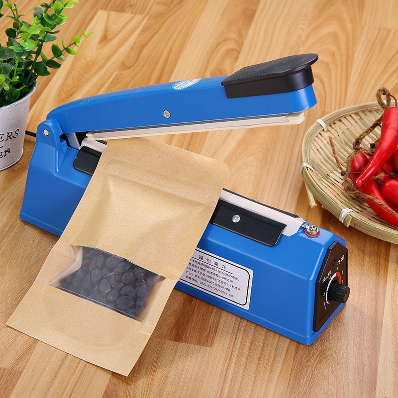 220V 300W 8 Inch Impulse Sealer Heat Sealing Machine Kitchen Food Sealer Vacuum Bag Sealer Plastic Bag Packing Tools US/EU Plug220V 300W 8 Inch Impulse Sealer Heat Sealing Machine Kitchen Food Sealer Vacuum Bag Sealer Plastic Bag Packing Tools US/EU Plug