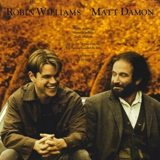 Good Will Hunting Movie Poster (11 x 17)-in Plaques