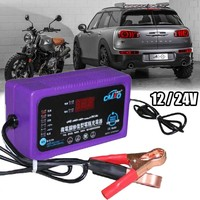 12V/24V 200AH Intelligent Repair Battery Charger For Motorcycle Car Electric Lead acid Batteries Dry Wet Motorcycle Moto Charger