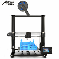 Anet A8 Plus latest upgraded motherboard version DIY 3D Printer PK Anet A8 High Precision Metal Desktop Impresora 300x300x350mm