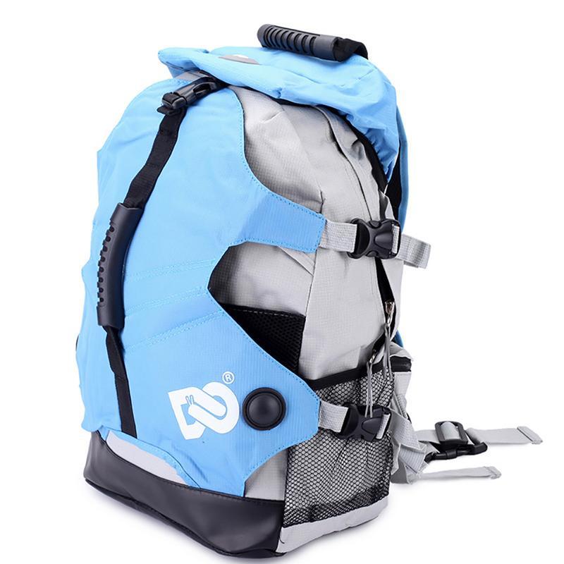 Patines bolsa puede ser en patines de hielo 20-35L bolsas de lona mochila en línea zapatos de Skate zapatos de patinaje bolsa caso mochilas