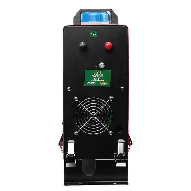 12V 5000W Mobil Udara Diesel Heater All-In-One Mesin Satu Lubang LCD Monitor Pemanas Diesel parkir Hangat untuk Mobil Truk Bus Perahu