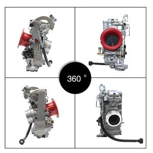 Image 3 - ZSDTRP Original 28 33 35 37 39 40 41mm Flatslide Carburetor FCR39 for KTM XR DR400 CRF450/650 KLX400/450 YZ450F Add Power 30%