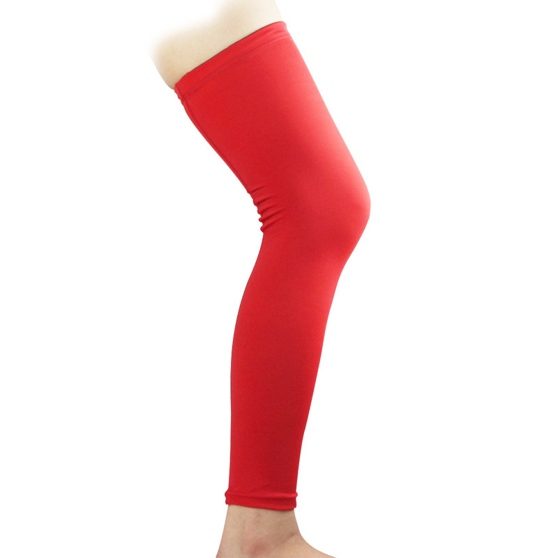 Sports Knee Protector Breathable Outdoor Basketball Leg Sleeve Knee Support Pads  A Lower Leg Lengthen Kneepad Socks Football