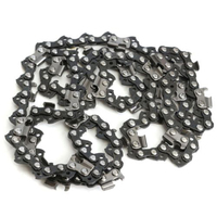 high quality 3PCS 18 Chain Saw Chainsaw 72 Drive Links Pitch/Gauge Accessories Part Metal Chainsaw Saw Chains