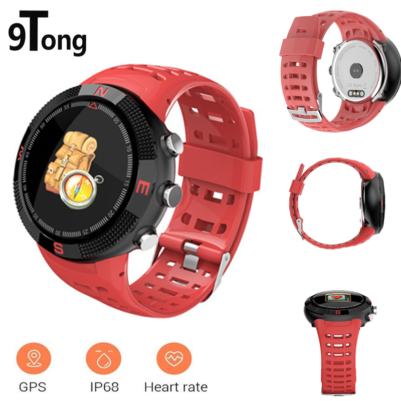 цена на 9Tong Outdoor GPS Positioning Smart Watch Waterproof Smartwatch Call Message Reminder Heart Rate Men Smart Watches Call Reminder